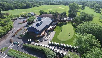 Aerial view of Deerfield Golf Club