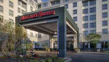 Marriott Suites hotel near Deerfield Golf Club