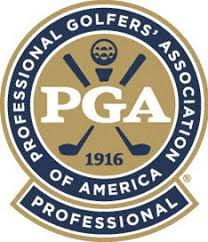 Logo for the Professional Golfers Association of America